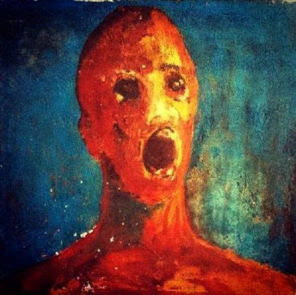 Bức tranh được cho là vẽ từ máu và sơn
