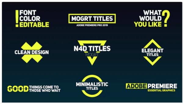 Với 28 kiểu khác nhau để tạo hiệu ứng kiểu chữ động, dự án Adobe Premiere Pro này có rất nhiều giá trị.