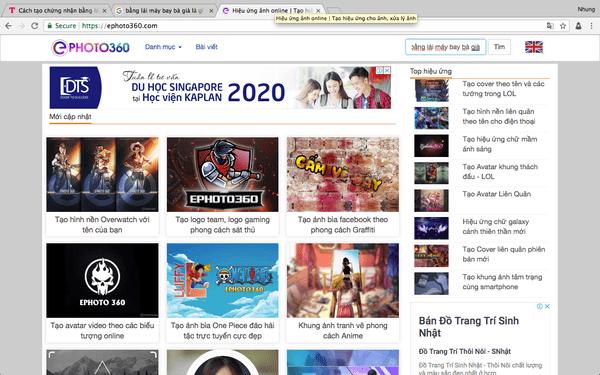 """Để không mất hàng giờ đồng hồ ngồi tìm kiếm, bạn có thể nhấp vào ô """" Nhập nội dung cần tìm"""" ở góc trên bên phải của trang web"""