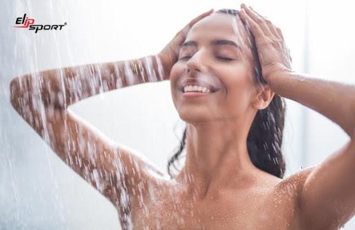 Tắm sạch với sữa tắm