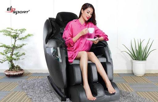 Sử dụng ghế massage ELIP