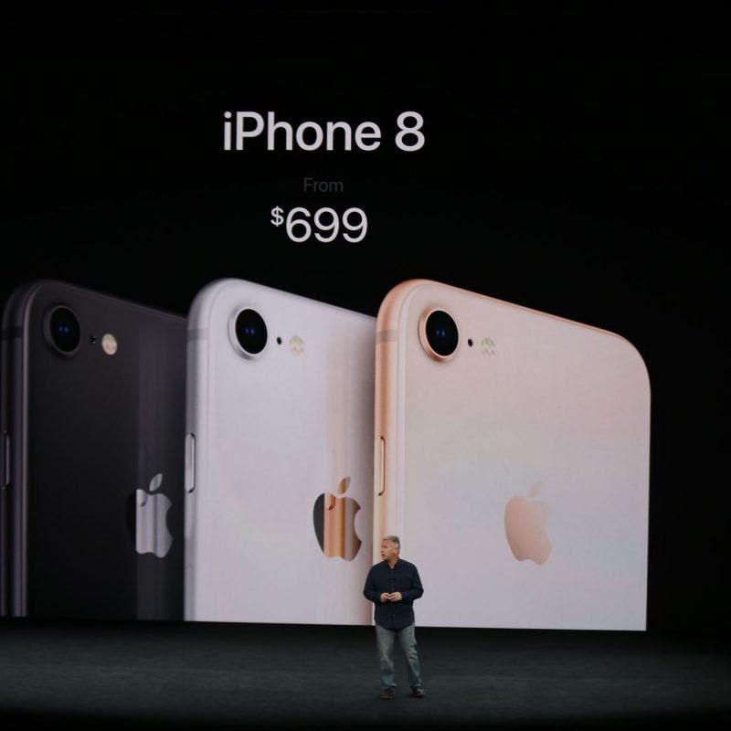 Mức giá của iPhone 8 khi mới lên kệ dao động từ 16.000.000 VNĐ đến 20.000.000 VNĐ