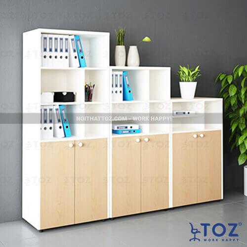 Những mẫu tủ kệ văn phòng cao cấp 2021